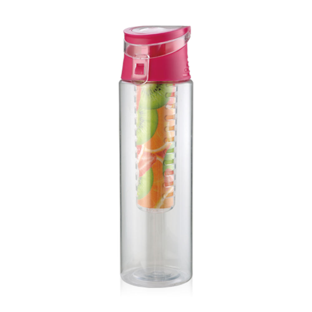 Private label infuser sports water bottle plastic fruit juice bottles