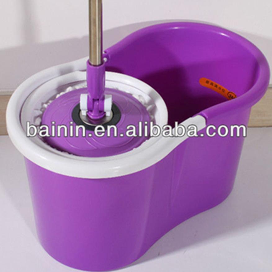 유럽 OEM 디자인 360 스핀 걸레 버킷 쉽게 바닥 360 스핀 걸레 마법 청소