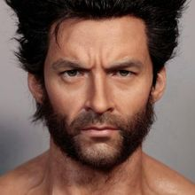 Life size Statue Super Hero Bust Wolverine Wax Figure For Collectible