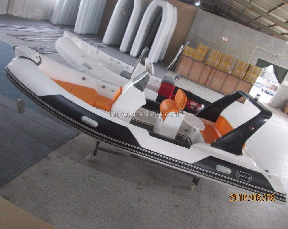 150L fuel tank Liya 5.2m china rib yacht 90hp engine 10 seats speed boat