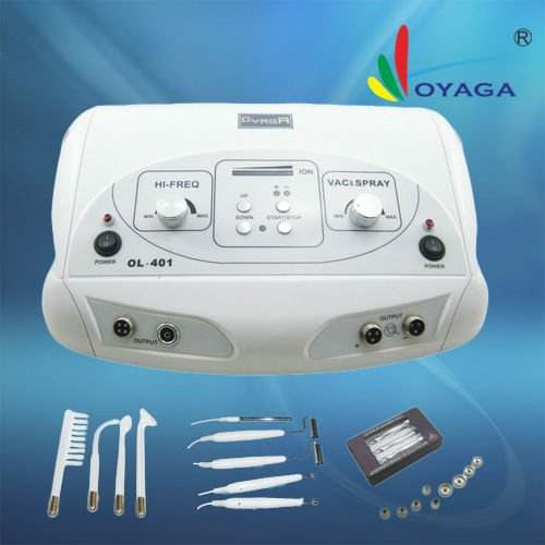 OL-401 High frequency + galvanic facial machine