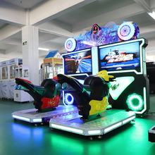 Wholesale racing video simulator coin motorcycle arcade game