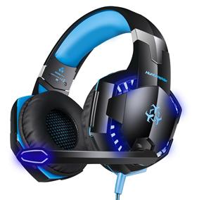 Gaming Headset per PS4, HUNTSPIDER V9 con Il Mic per PC PSP PS4 Bass Surround Sound cuffie Over Ear per l'intera vendita gamer BL