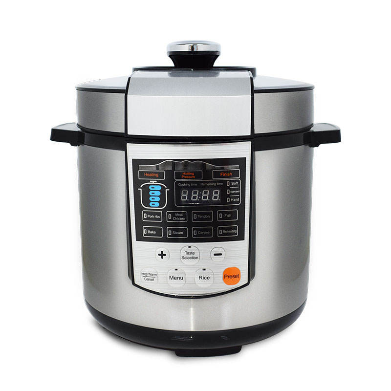 Multi-function Electric Pressure Cooker with Intelligent Control High Pressure Rice Cooker Kitchen Appliances