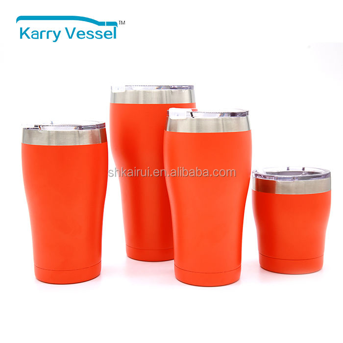 wholesale 10oz 16oz 20oz 30oz stainless steel double wall vacuum insulated coffee tumbler cups