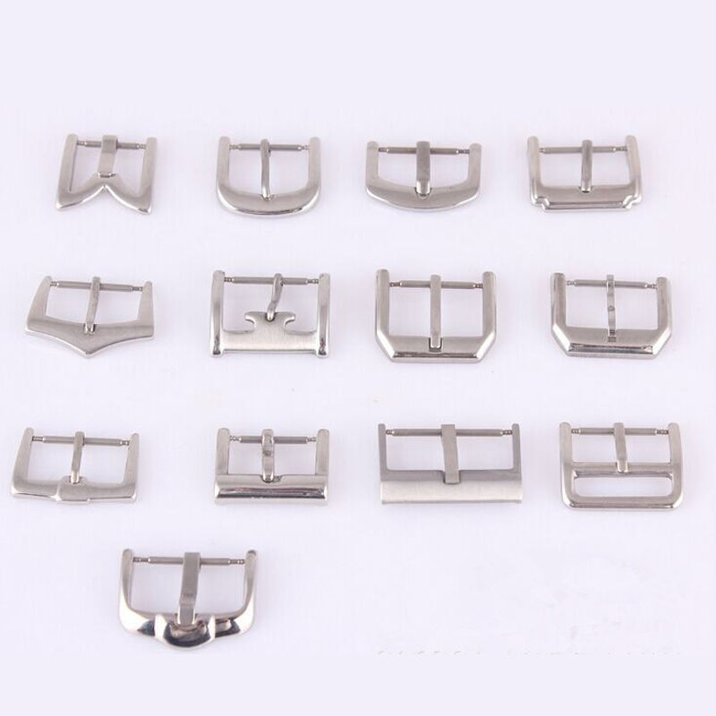 wholesale multiple cheap 201L/304L/312L stainless steel watch buckles