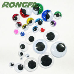 12mm Plastic Moving Doll Eyes For DIY Toys