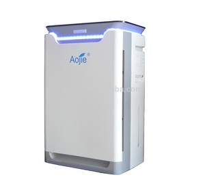 Aojie Portable Ionic Negative Ion Air Purifier with UV Hepa Filter Ionization Air Purifier for Household