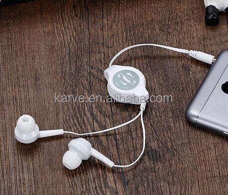 Newest Product - Hot Selling High Quality Retractable Earphone