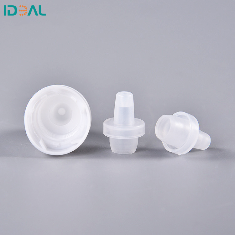 LDPE Plastic Dropper Bottle With Cap Laboratory