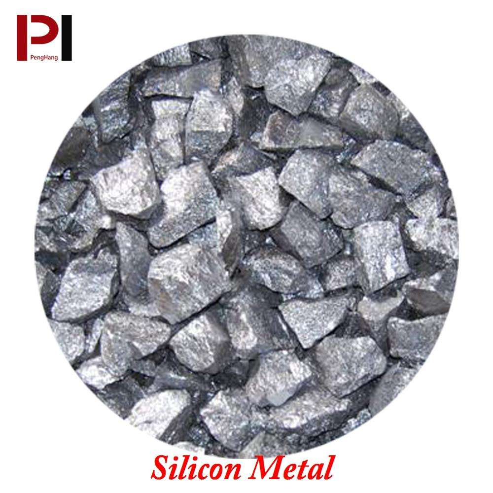 China High Purity metallurical Silicon Metal 421 553 3303 for Aluminium and polysilicon