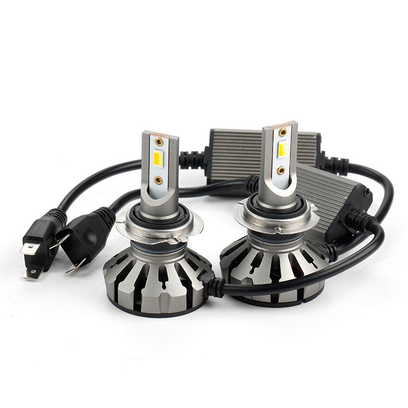 KEEN super bright 7800lm 26w led h7 headlight bulb Q5 led h4 car headlight with white and amber color