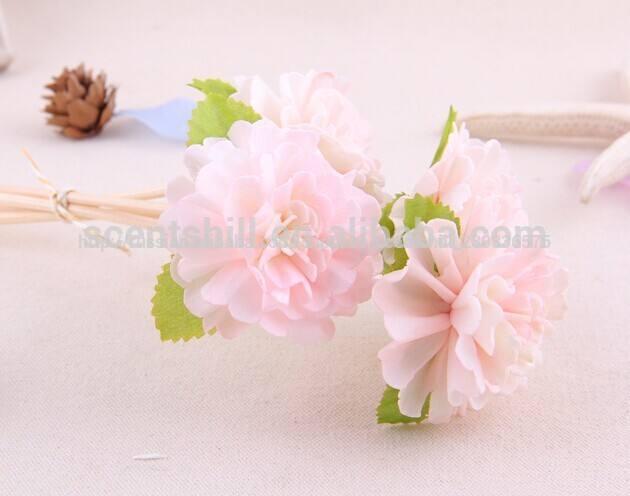 оптовая натуральный аромат органический белый/красный/синий/фиолетовый цветы сола древесины Ароматизированные цветы