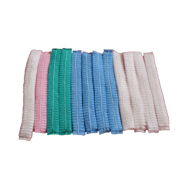 Factory price disposable colorful nonwoven strip clip cap