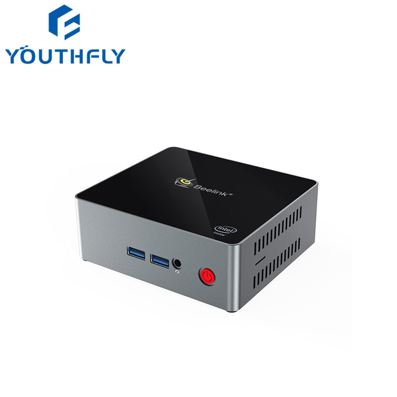 2019 Original Dual Core Beelink J45 Intel Apollo Lake J4205 LPDDR4 4/8G Support Win10/Ubuntu OS Mini PC J45 BT4.0 HD 4K