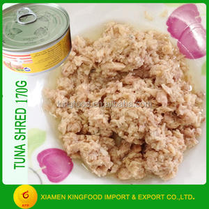 Canned Fish Canned Tuna Shred in Water