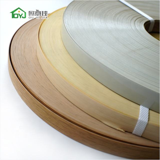 Packaging Customization [ Plastic Edge ] Pvc Edging Strip Good Primer Plastic Chairs Tables PVC Edge Banding Tape Edging Strips