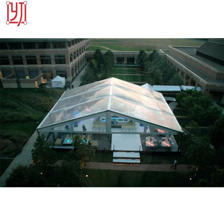 Luxury Transparent Party Wedding Marquee Tent Glass Marquee For Sale