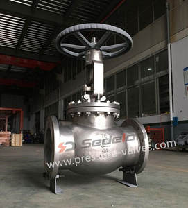 API Globe Valve Duplex/Super Duplex for Sea Water Desalination