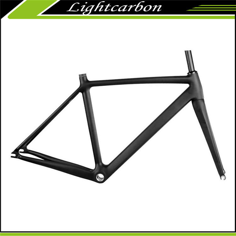 2016 LightCarbon China Carbonrahmen Fixed Gear Carbonfaser-fahrradrahmen LCTR002