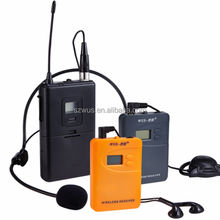 Long Range Wireless Tour Guide Walkie Talkie,group tour guiding device ,tour visiting, meeting, translation, teaching,training