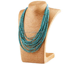 Fashion Seed Bead Necklace,Handmade Jewelry,Bead Jewelry Wholesale HS-0001