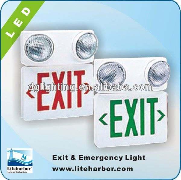 6v ul, d'urgence et éclairage de sortie