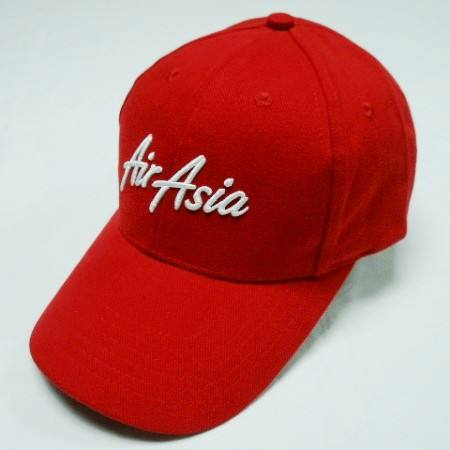 Promotional cap custom logo 3D embroidery logo red color baseball cap with cheap price baseball cap and hat