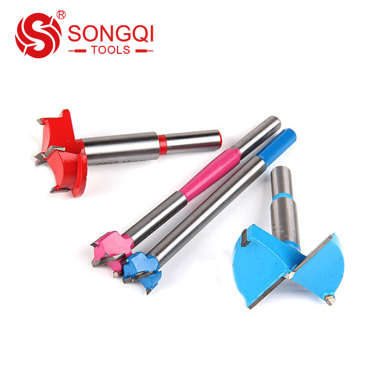 SongQi Carbide hole saw straight shank for wood