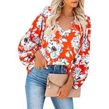 Summer T Shirt Large Sizes Women V Neck Puff Sleeve Rounded Casual Top Female Tunic
