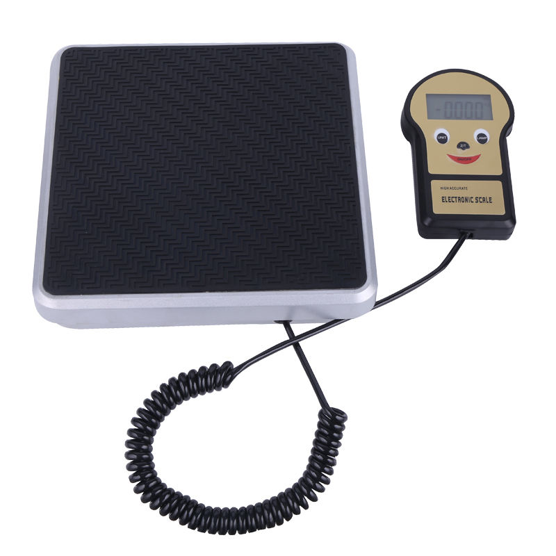 Electronic digital refrigerant freon charging scale for charging and weighting freon refrigerants