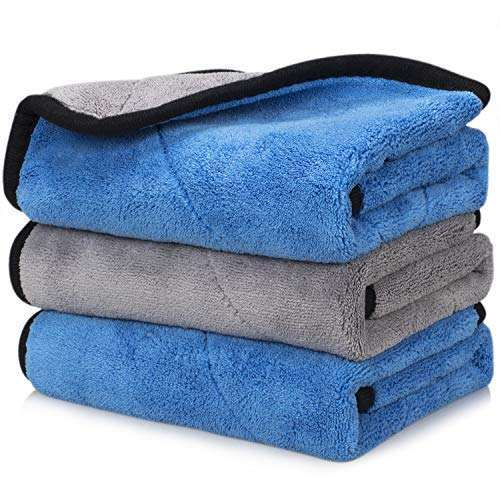 Car Microfiber Towel Professional Grade Premium Microfiber Towels Drying Absorber Car Polishing Waxing Cleaning Detailing