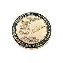 Gold Challenge Custom Metal Souvenir No Minimum Cheap Copy Promotional Coin