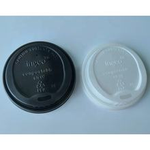 100% Biodegradable Hot Selling Compostable 80mm 90mm PLA paper Cup Lids