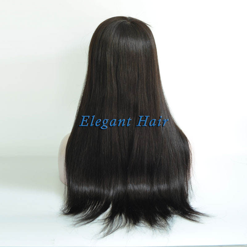 Long Hair Length Human Hair Swiss Lace Women Toupee