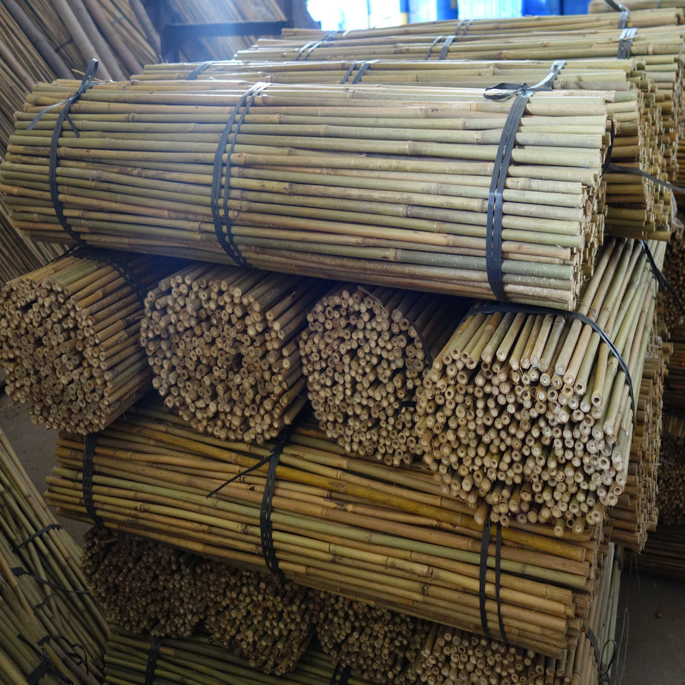 Short bamboo canes bamboo pole bamboo stake for plant