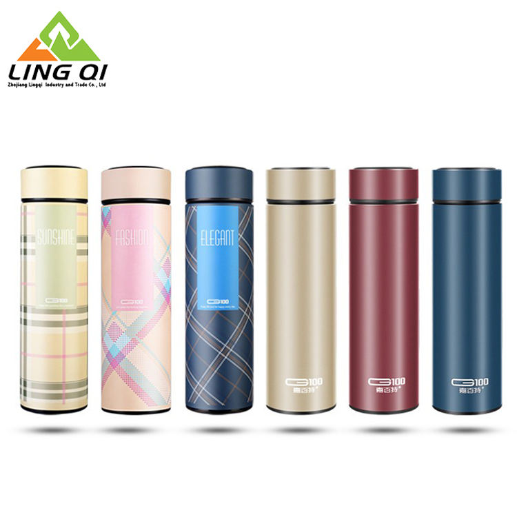 Baru Promosi Stainless Steel Double Wall Teh Thermos Vacuum Flask Botol