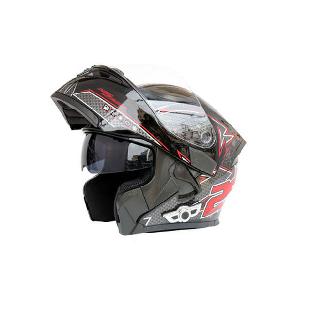 High Quality Carbon Fiber Safety Built-in Bluetooth Helmet Motorcycle