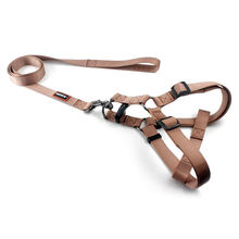 Professional top level wholesale nylon material pet dog harness and leash