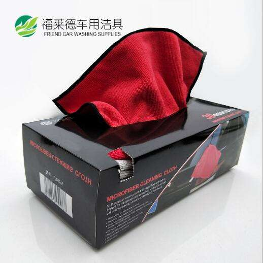 2020 New Portable box microfiber auto cleaning cloth