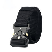 Quick release Nylon Breathable tactical belt military belt army webbing belt