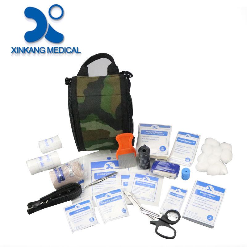 Yüksek kalite ucuz açık tıbbi ilk yardım kiti çanta malzemeleri