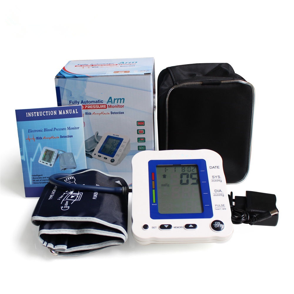 Coulax blood pressure monitor supports switching between 2 users blood pressure meter
