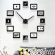 Cheap and high quality modern home decor China export metal wall clock photo frame