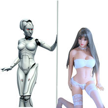 165cm Intelligent Humanoid Sex Doll Robot Emma is replacing silicone sex doll