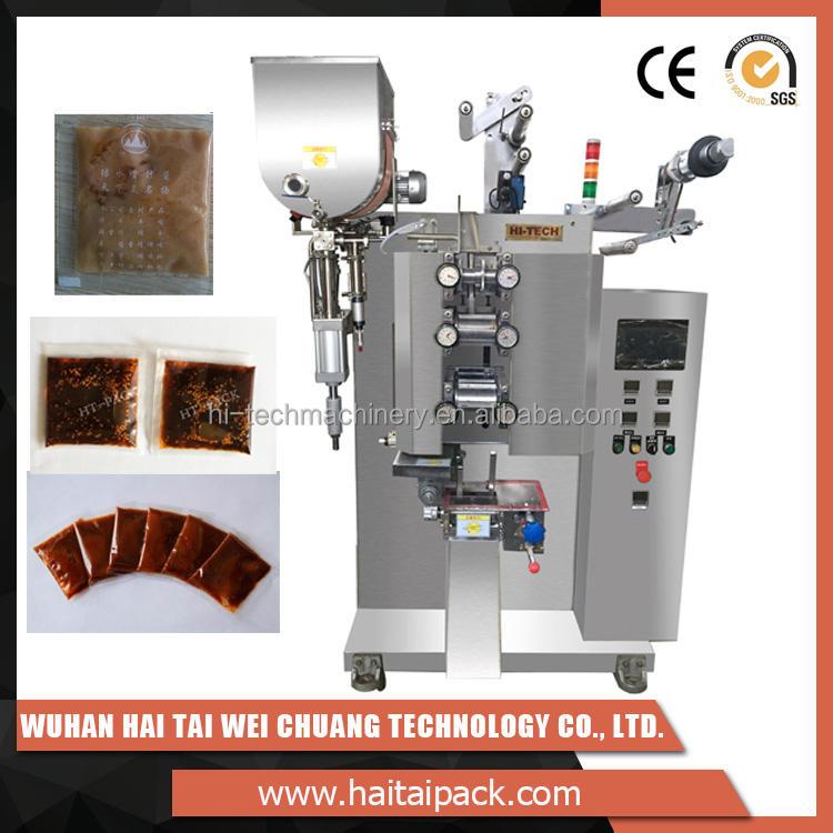 Controle do PLC HT-319Q produtos Mais populares máquinas de embalagem de molho de <span class=keywords><strong>peixe</strong></span>