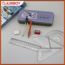Student like math geometry box , math draft tools ,drawing compass set