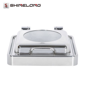 C156 Electric Built-in Oblong Visible Chafing Dish
