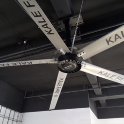 6.7m/22ft Big Sized Brushless DC Motor Metal Blades Industrial Ceiling Fans