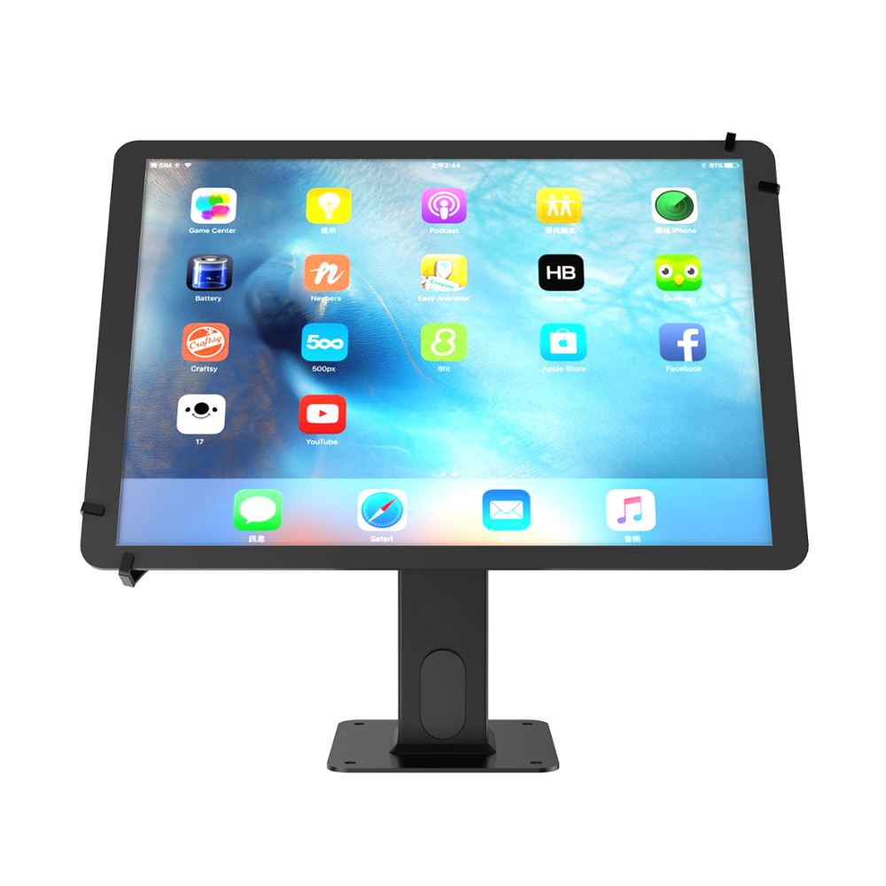 Custom Anti-Theft Universal Desktop Tablet Pc With Holder Enclosure Tablet Display Stand